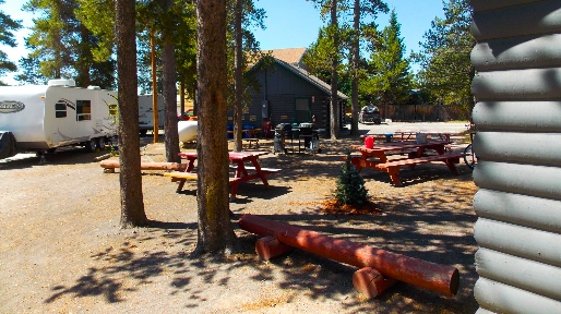 Rv Sites Yellowstone Cabins And Rv