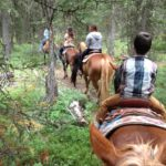 West Yellowstone Horse trail ride