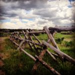 West Yellowstone Jack fence
