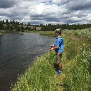 West Yellowstone Fishing the Madison